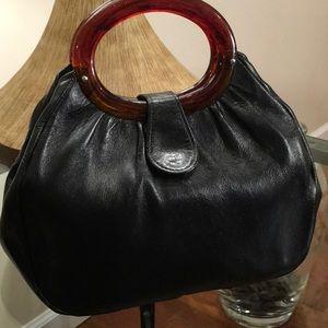Sweet vintage Satchel leather
